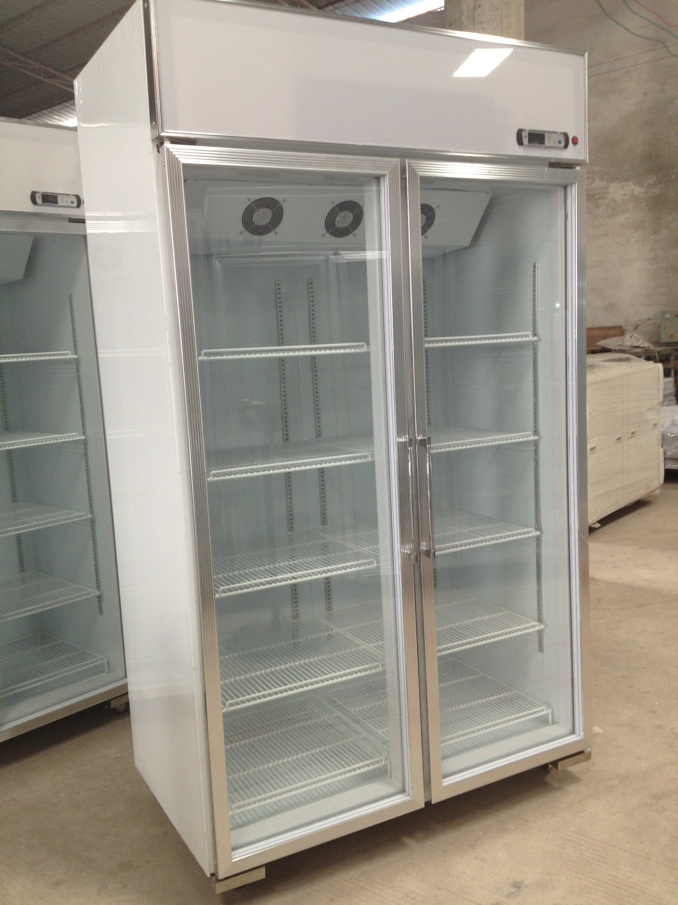 Green&health 3 Door Display Refrigerator Beer Cooler Used ...