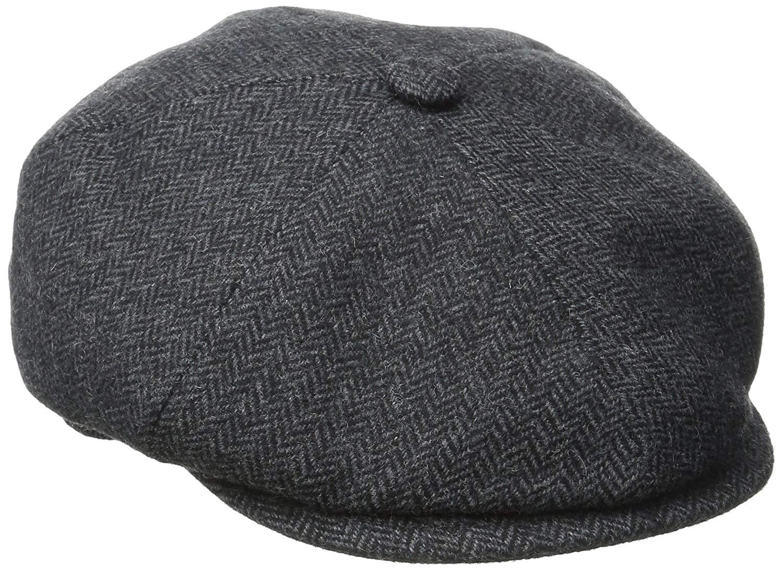 Get Quotations · Stetson Men s Wool Blend Herringbone Cap ae67c9c371b4