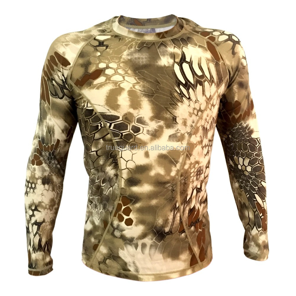 Wholesale Atacs tight compression Army T-shirt Camo Long sleeve ...