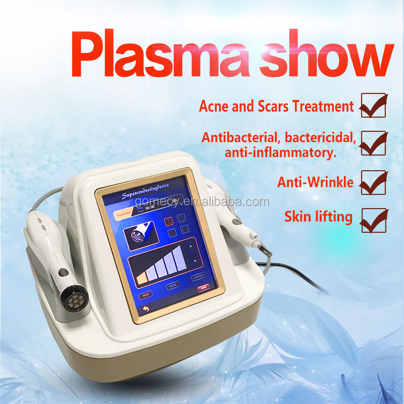 GOMECY aesthetic plasma cold laser injection gun plasma jet lift medical beauty device
