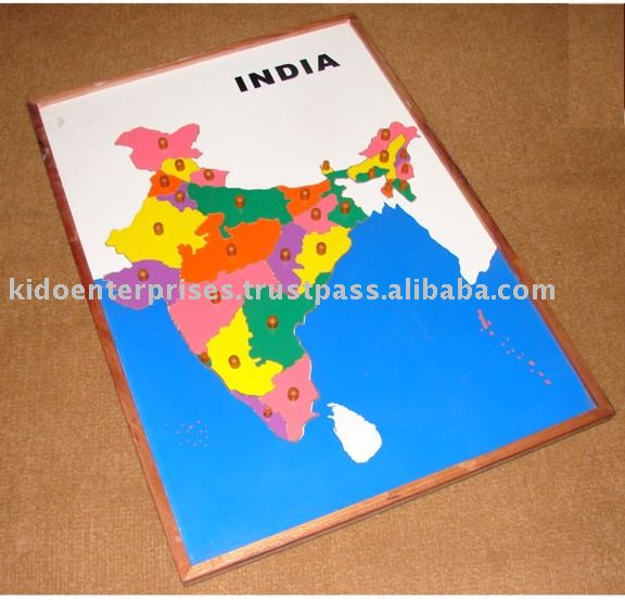 Map puzzle india buy map woodenmontessori materialsgeography map puzzle india buy map woodenmontessori materialsgeography product on alibaba gumiabroncs Images