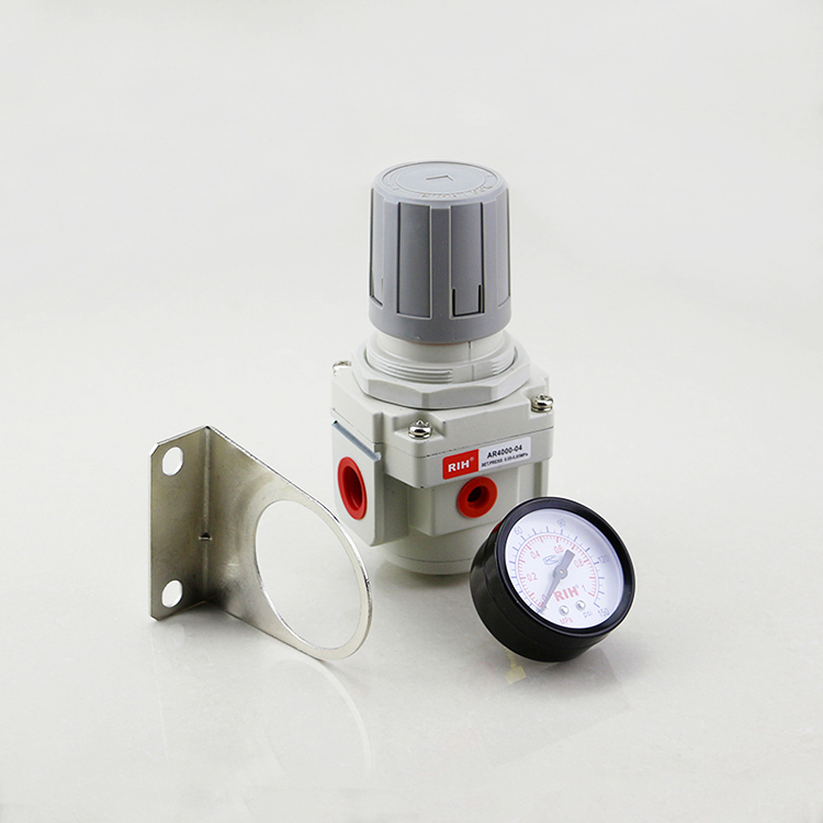 Pneumatic Regulator AR Series SMC ประเภท Air Pressure Regulator