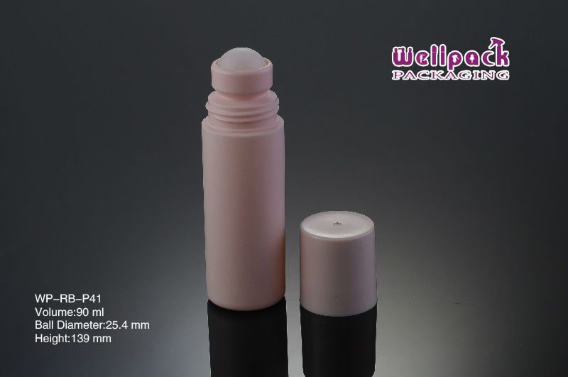 WellPack 90ML Plastic Roll on Deodorant Perfume Bottle (WP-RB-P41)
