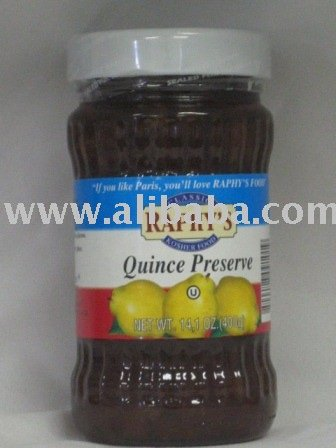 Quince Preserves fruit jam