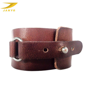 Whole Wide Leather Cuff Bracelet Real Bracelets Make