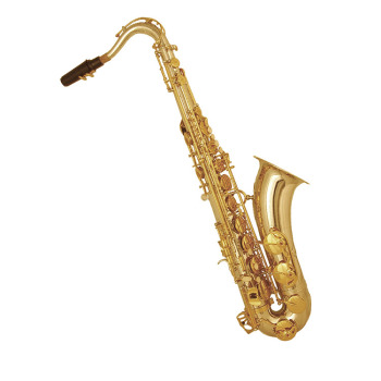 Kinglos Goldlack Bb Messing Tenorsaxophon aus China Sax