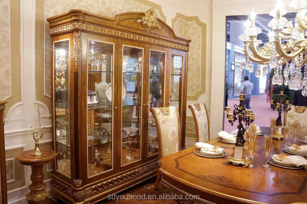 2015 0062 italian classic antique living room display showcase design buy showcase display - Glass showcase designs for living room ...
