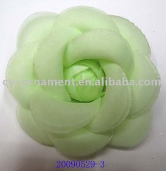 Top Quality Fancy Designs Hand Made Large Clean Fabric Flower Brooch Pins  For Women Clothes Accessories c2e1e4621f