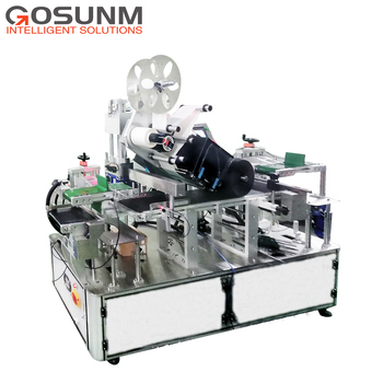 Gosunm Automatic online print and apply system labeling machine with German Avery printer 11500