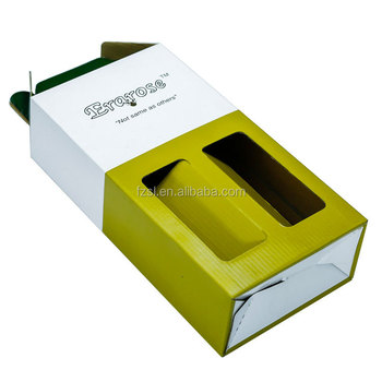 LPWB001 China factory printed wine bottle packing box corrugatged board paper boxes