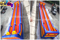 Competition sport game Inflatable bungee run for sale