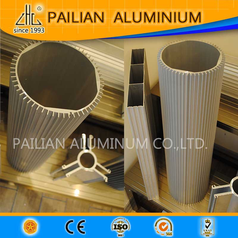 Germany Led High Bay Light Round Heat Sink Extruded