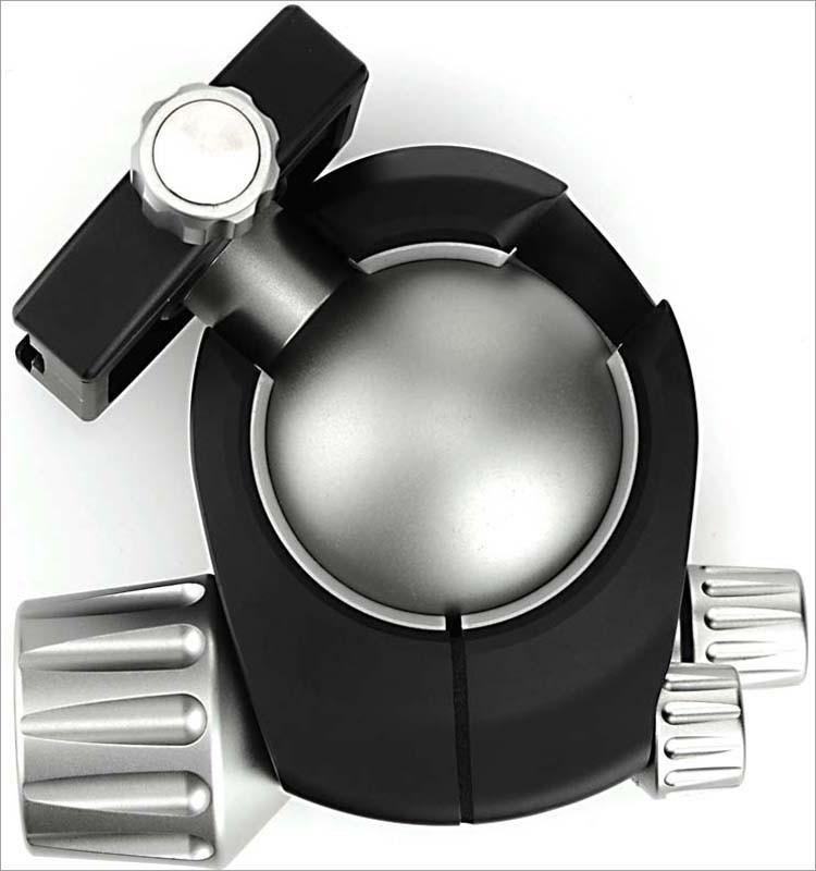 Ball Head For Camera 1/4 Screw Aluminum Ball Head Mount 360 Degree ...