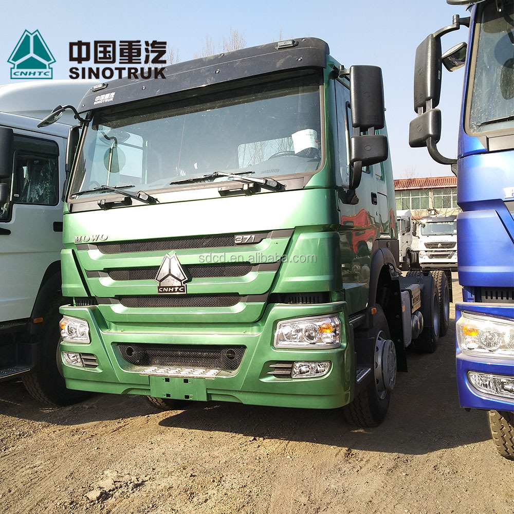 High horse power 420hp Sino truck howo 6x4 tractors truck with Man engine for sale