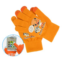 custom handmade wool gloves for touch screen