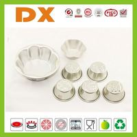 different shapes aluminium metal silicone cake pop molds