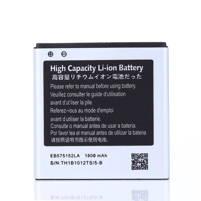 High Capacity Samsung Galaxy S Vibrant SGH-T959 Battery EB575152LA EB575152VA EB575152VU For Samsung Galaxy S Vibrant SGH-T959 / Samsung Galaxy S 4G SGH-T959V / Samsung Epic 4G SPH-D700 / Samsung Galaxy S Captivate SGH-i897 / Samsung FOCUS SGH-i917 / Samsung Captivate Glide SGH-i927 1800 mAh