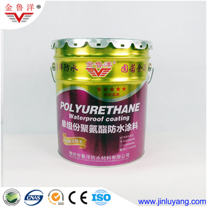 Waterproof Paint Water Based Single Component Polyurethane PU 951 waterproof coating