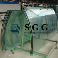 4mm 5mm 6mm 8mm 10mm 12mm 15mm best bent tempered building glass for sale curved tempered glass prices