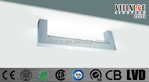 T5 tube fluorescent ceiling lamp / T5 tube office lighting / IP44 ceiling lighting fixture C2B0026