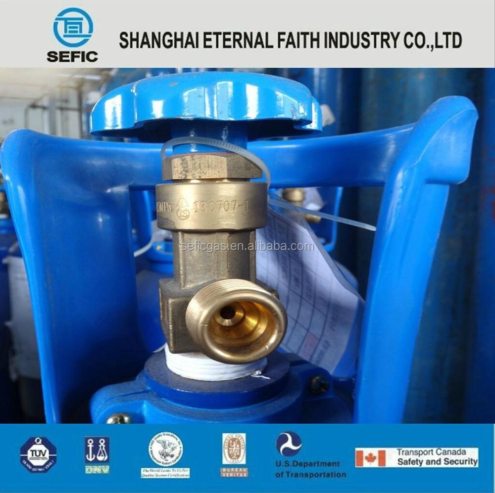Latin America Standard High Pressure Cga Valve Co2 Gas Cylinder ...