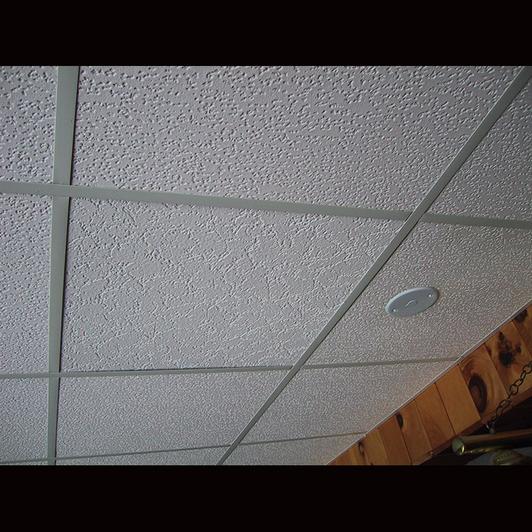 TRUSUS CE Certification 9MM Thickness Heat Insulation Pvc Plaster Of Paris Ceiling