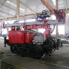 cheapest hydraulic spiral pile borehole drilling machine MZ580