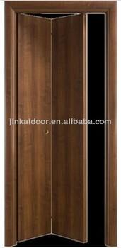 Panel Wood Door 2 Bifold Doors