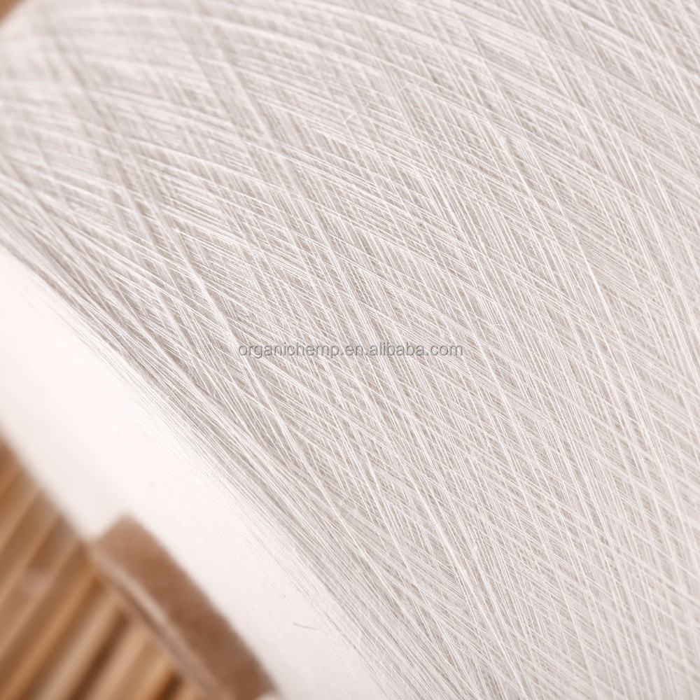 Certified Organic Linen/Organic Cotton Blended Yarn 20S for weaving