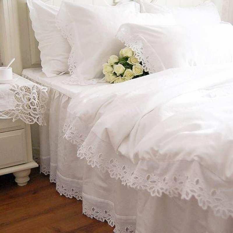 achetez en gros housse de couette volants en ligne des grossistes housse de couette. Black Bedroom Furniture Sets. Home Design Ideas