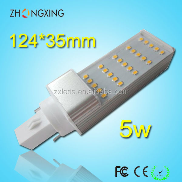 5W B22 base led PLC lamp SMD2835 energy saving