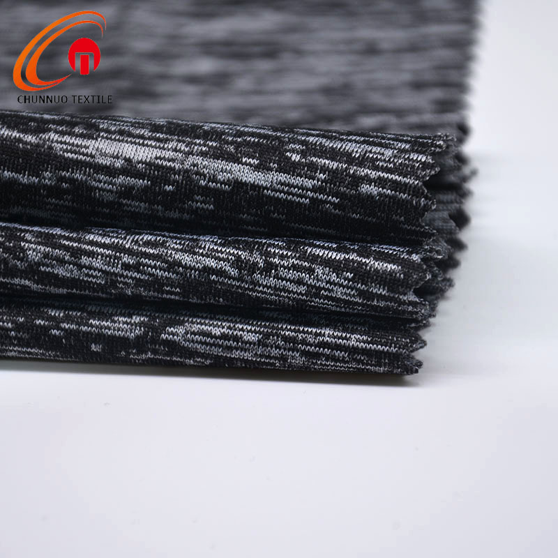 Chunnuo Polyester Spandex Cationic Stretch Knitted Fabric Tube for Sportswear