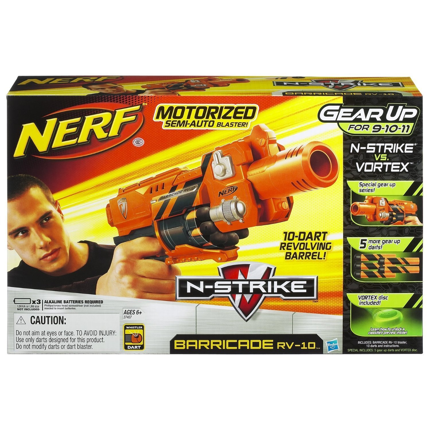 Nerf N-Strike Barricade Gear Up