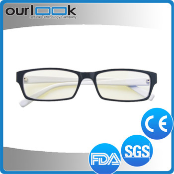 High Quality Tr90 Full Frame Vogue White Frame Vogue Optical Glasses ...
