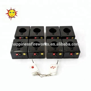 8 channels remote control indoor fountains fireworks firing system for cold fireworks