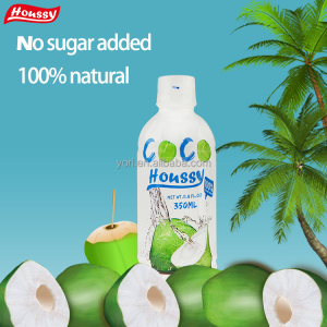 Famous brand houssy 350ml organic coconut water for sale