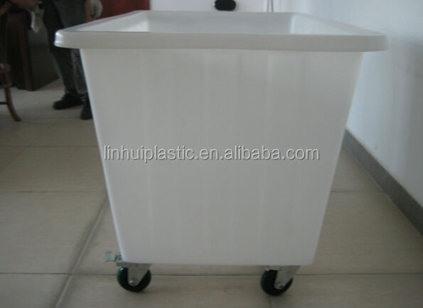 Used Pe Plastic Laundry Carts With Wheels For Sale Buy
