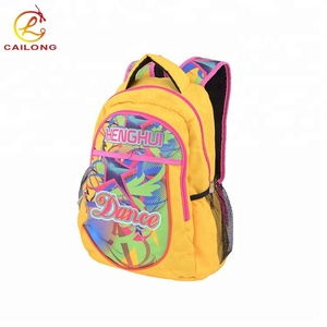 Custom lightweight polyester sports backpack cheer team bags