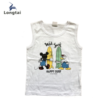 Factory Bulk Custom Printing Design Baby Boys Tank Top