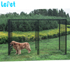 Welded tube welded wire mesh expandable dog fence