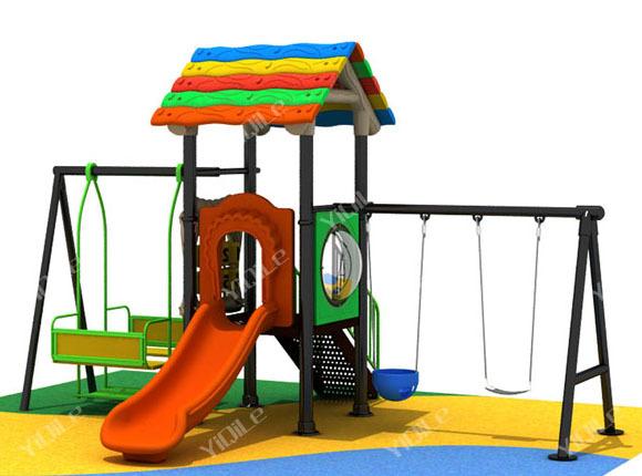 Outdoor Kindergarden Swing Set For Sale