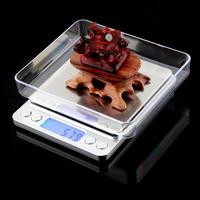 New 2000g 0.1g Digital Pocket Scale Jewelry Weight Electronic Balance Scale g/ oz/ ct/ gn Precision