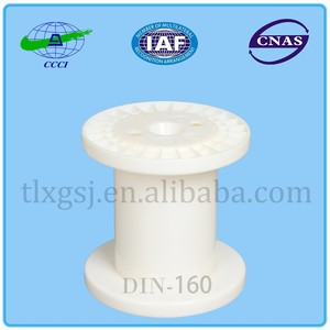DIN - 160 injection modling type empty plastic ribbon spools plastic wire cable rope spool