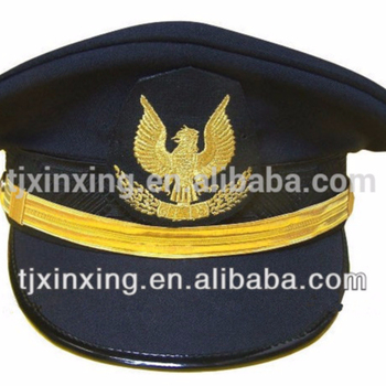 174dfb1c5f756 Ribbon Formal Military Navy Airforce Captain Hat - Buy Captain Hat ...