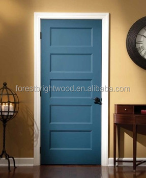 Wood Bedroom Panel Door Design Standard Size Prices