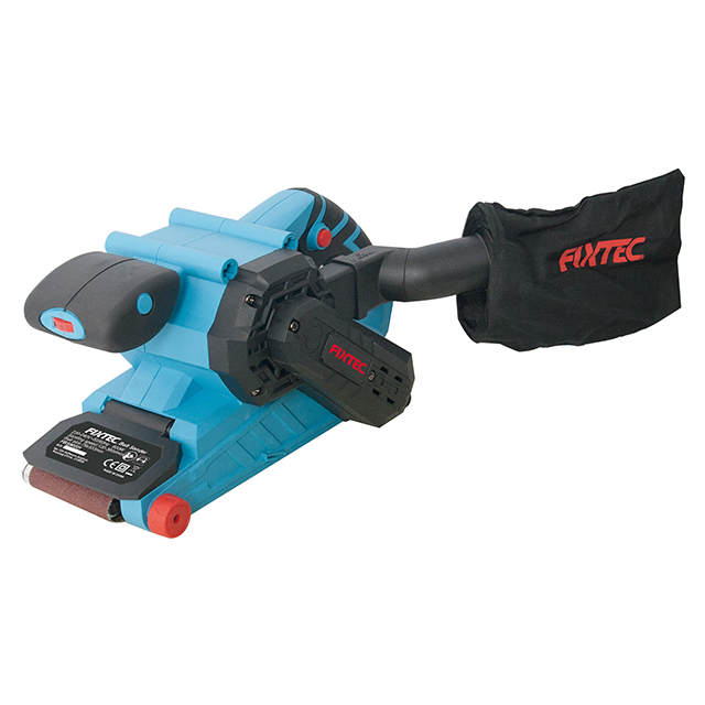 Fixtec 900W Professional Wide  Belt Grinder Sander Machine