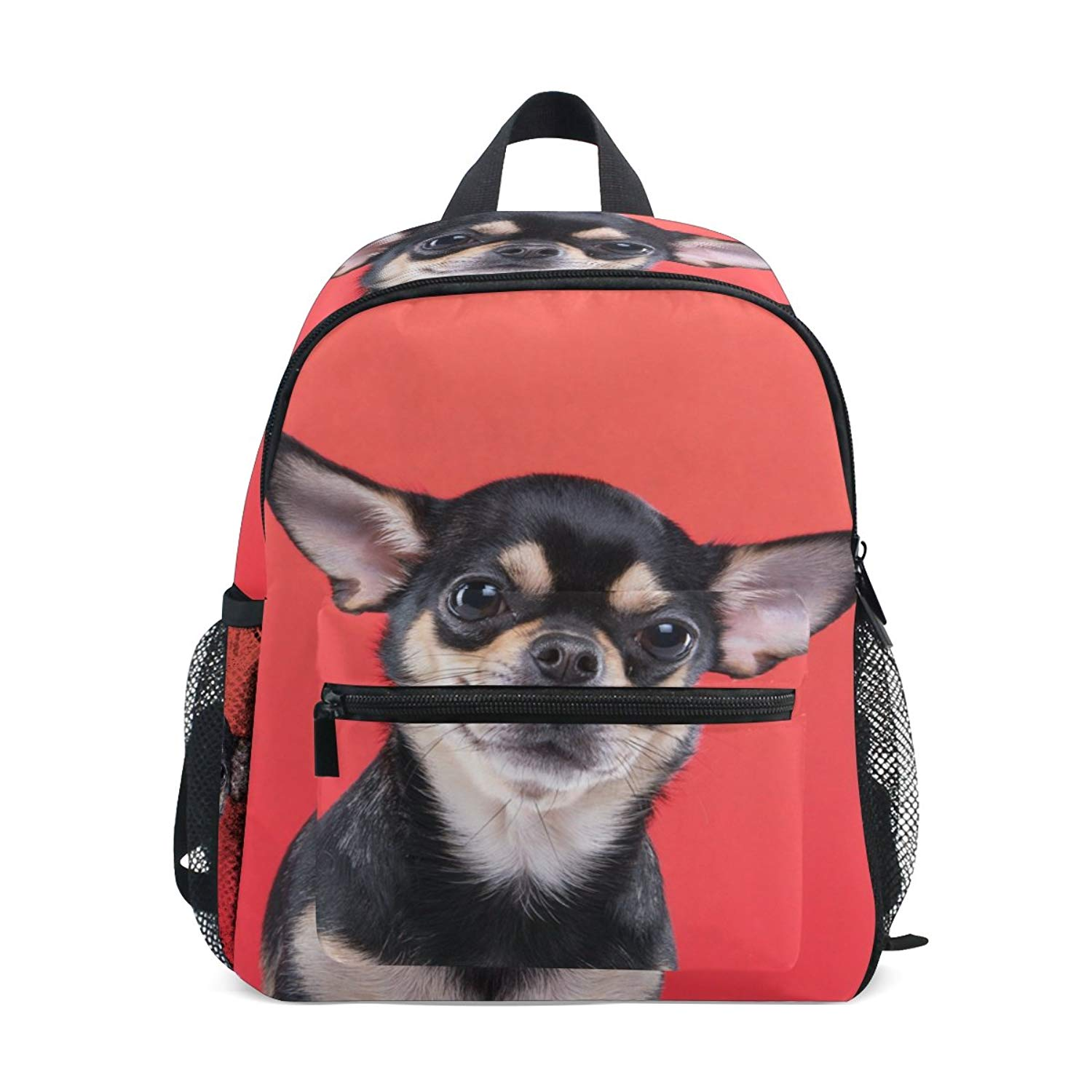 22188c4839 Get Quotations · Cute Chihuahua Dog Kids Backpacks Preschool Book Bag  Travel Daypack Boys Girls
