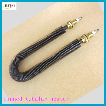 Finned strip heater are