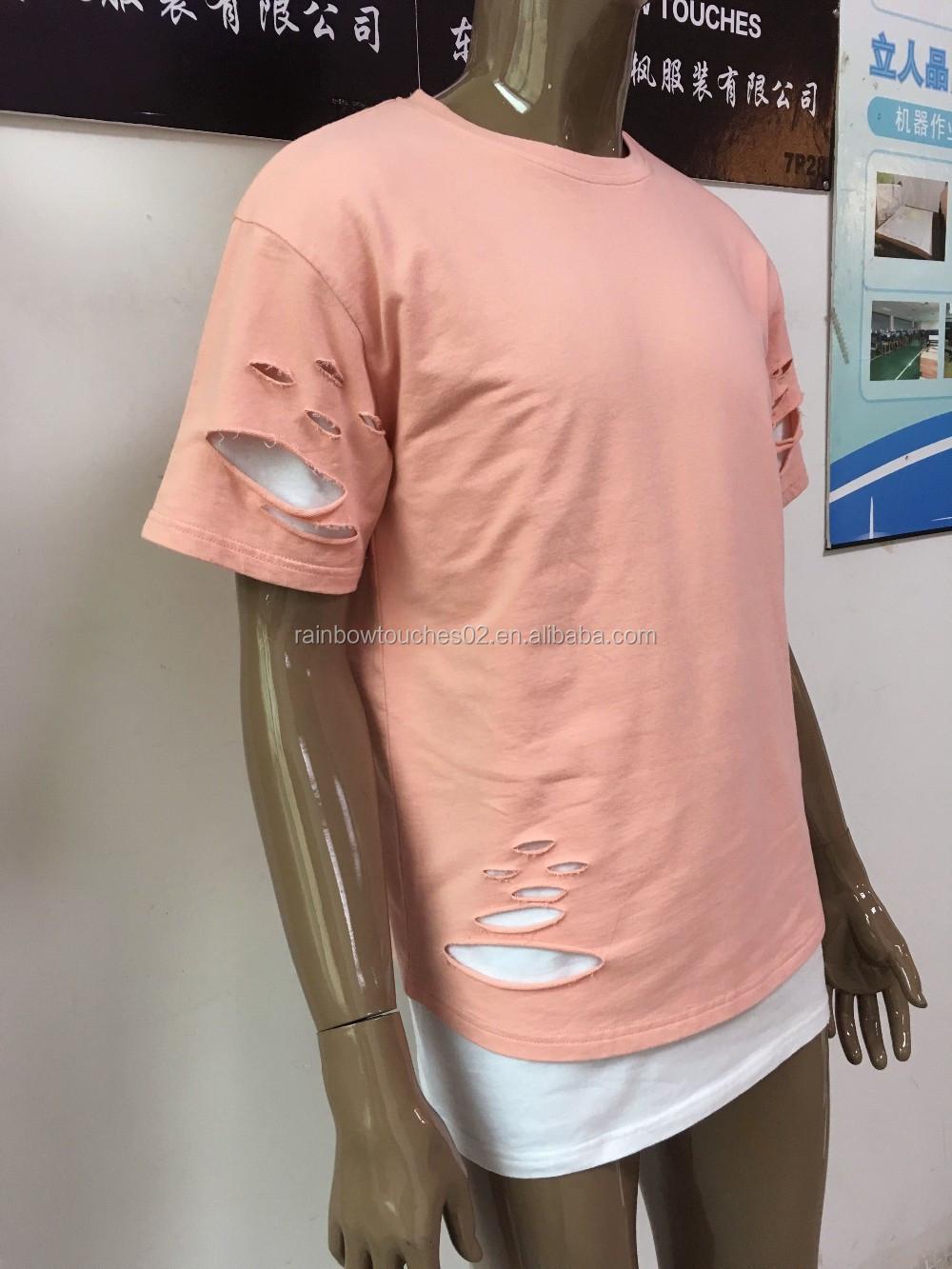 China manufacturer custom mens hip hop blank acid wash for Custom acid wash t shirts