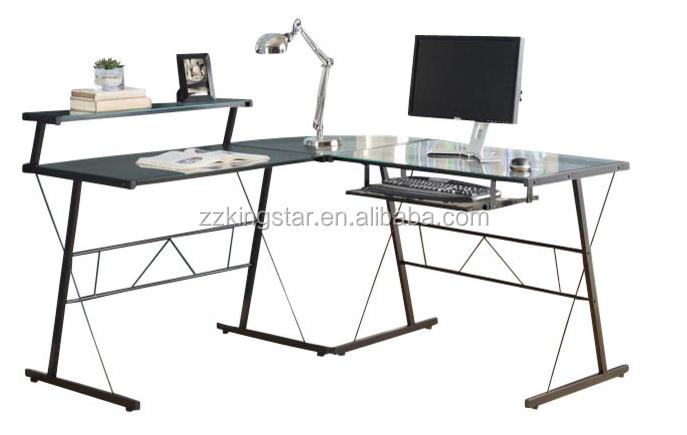 Home Office Workstation Long Glass Corner Computer Desk - Buy Glass  Computer Desk,Long Computer Table,Long Glass Conputer Desk Product on  Alibaba.com